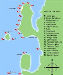 dive sites in Moalboal